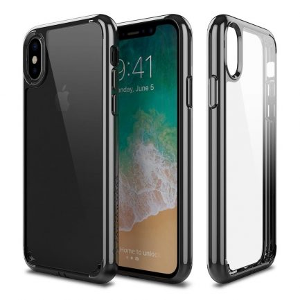 Patchworks Lumina iPhone X – Clear / Black