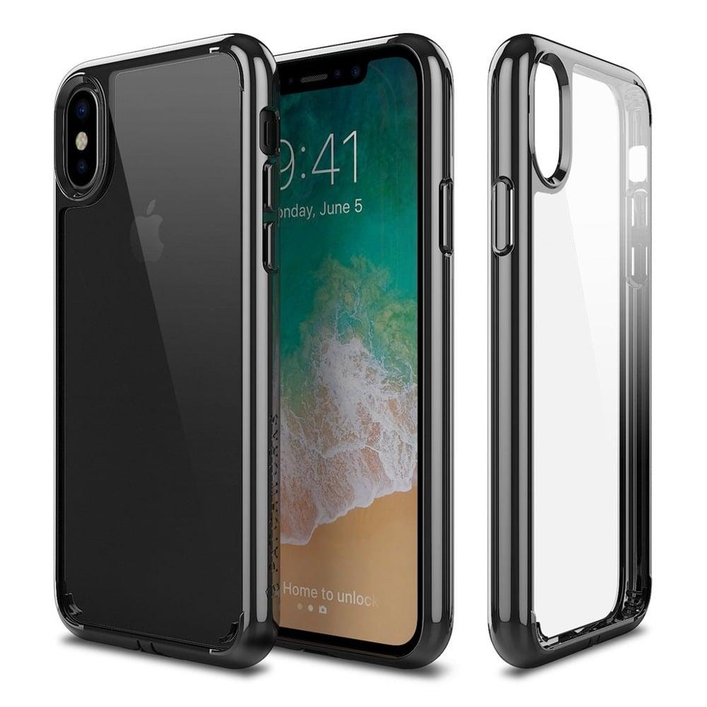 Patchworks Lumina iPhone X – Clear / Black