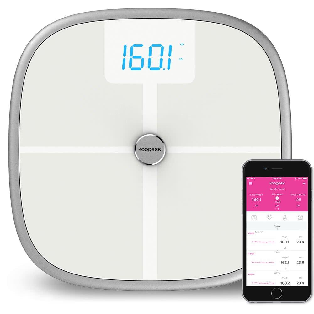 Koogeek Smart Scale Waga Bluetooth WiFi