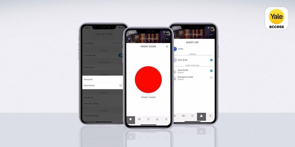 inteligentny-zamek-yale-linus-smart-lock-srebrny-yale-access-app-logo-updated-iShack